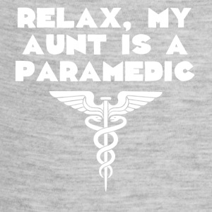 Relax My Aunt Is A Paramedic - Baby Contrast One Piece