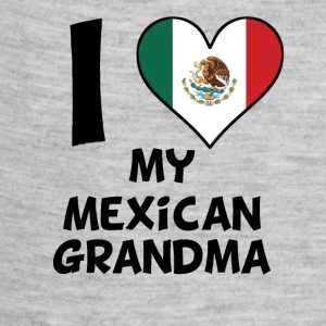 I Heart My Mexican Grandma - Baby Contrast One Piece