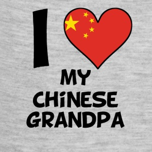 I Heart My Chinese Grandpa - Baby Contrast One Piece