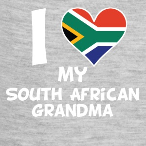 I Heart My South African Grandma - Baby Contrast One Piece