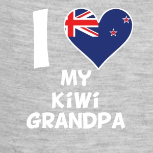 I Heart My Kiwi Grandpa - Baby Contrast One Piece