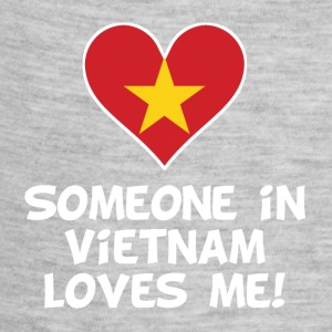 Someone In Vietnam Loves Me - Baby Contrast One Piece