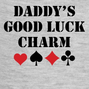 Daddy's Good Luck Charm - Baby Contrast One Piece