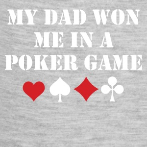 My Dad Won Me In A Poker Game - Baby Contrast One Piece