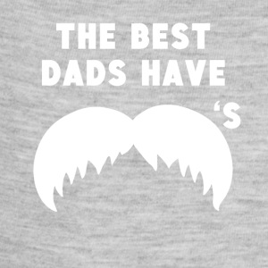The Best Dads Have Mustaches - Baby Contrast One Piece