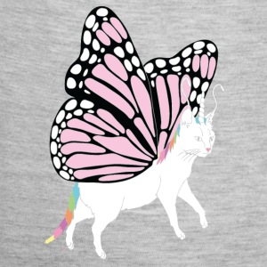 Butterfly Cat - Baby Contrast One Piece