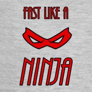 Fast_Ninja_Red - Baby Contrast One Piece