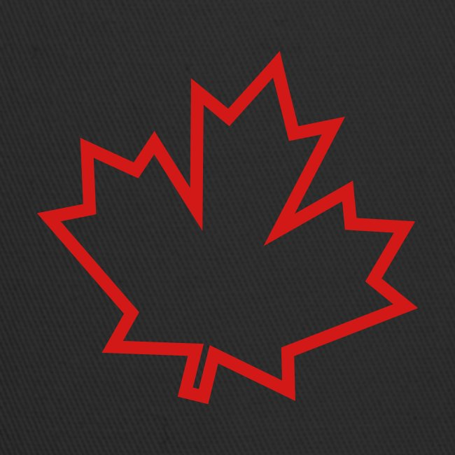 Maple Leaf Outline