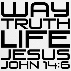 Way truth life Jesus - Trucker Cap