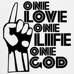 One Love Life God - Trucker Cap