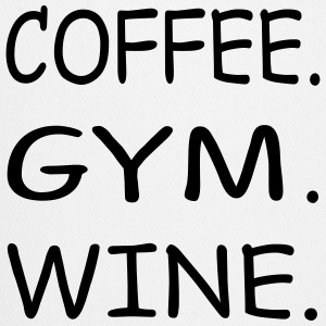 COFFEE GYM WINE - Trucker Cap