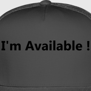 available - Trucker Cap