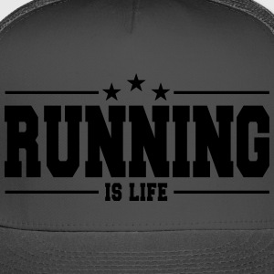 Running is life 1 - Trucker Cap