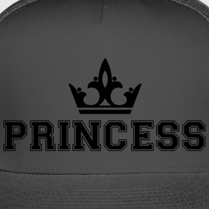 Princess_with_crown1 - Trucker Cap