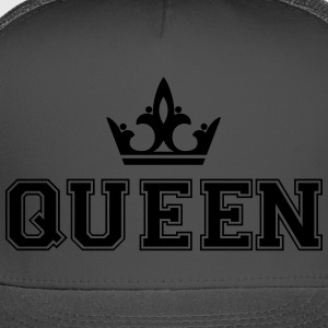 Queen_with_crown1 - Trucker Cap
