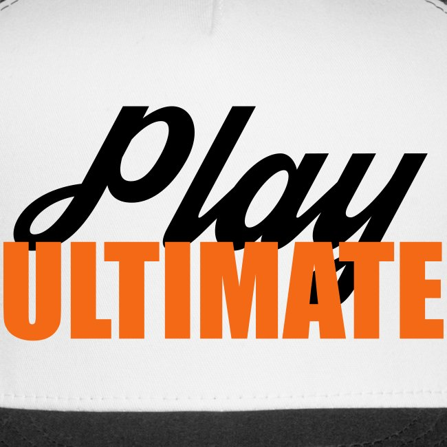 Ultimate Frisbee Hat: Play Ultimate