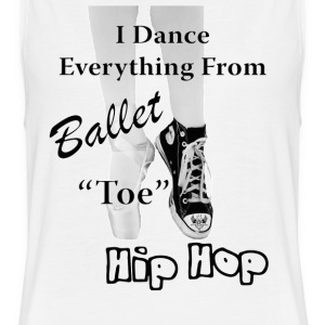 Ballet & Hip Hop - Women's Flowy Muscle Tank by Bella
