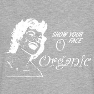 Organic - Show Your O Face - Women's Flowy Muscle Tank by Bella