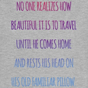 No one realiszes how beautiful it is to travel - Women's Flowy Muscle Tank by Bella