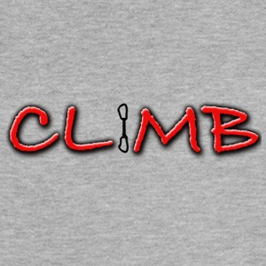 Climb Female and Male Climbing T-Shirt - Women's Flowy Muscle Tank by Bella