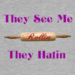 they see me rolling - Women's Flowy Muscle Tank by Bella