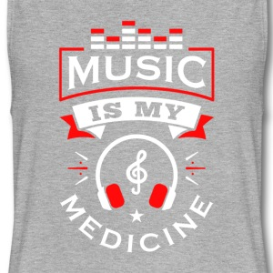 Music Is My Medicine - Women's Flowy Muscle Tank by Bella