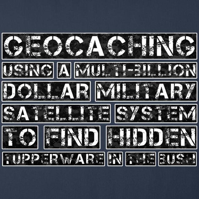 Geocaching Camo Satellite