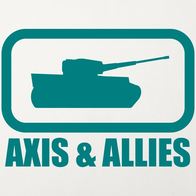 "Tank Logo with ""Axis & Allies"" text - Multi-color"