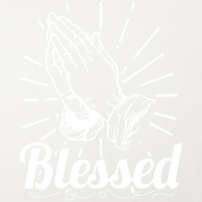 Blessed (White Letters)
