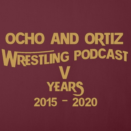 "Ocho and Ortiz 5 Years Logo - Throw Pillow Cover 17.5"" x 17.5"""