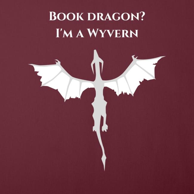 Book dragon? I'm a Wyvern (white)