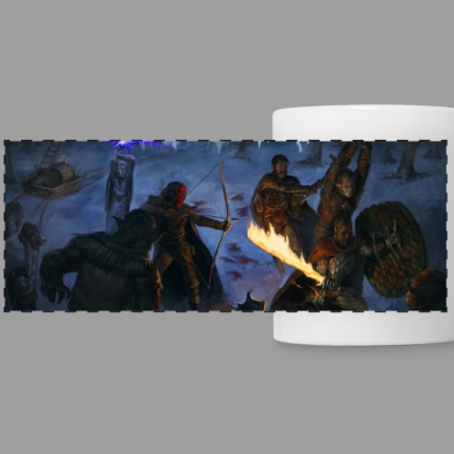 Frozen Frontier: The Caldonian Expedition - Panoramic Mug