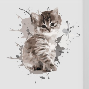 animal pet cute cat - Panoramic Mug