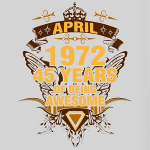 April 1972 45 Years of Being Awesome - Panoramic Mug