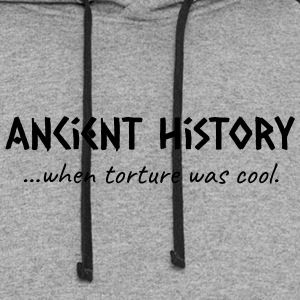 Ancient History When Torture Was Cool - Colorblock Hoodie