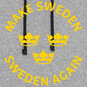 Make Sweden Sweden Again - Colorblock Hoodie