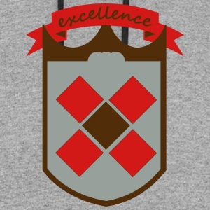 shield excellence - Colorblock Hoodie
