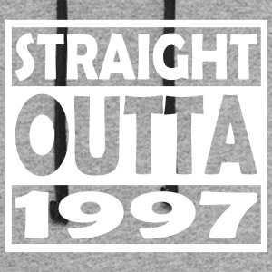 20th Birthday T Shirt Straight Outta 1997 - Colorblock Hoodie