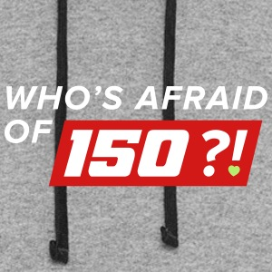 Who Afraid of 150 - Colorblock Hoodie