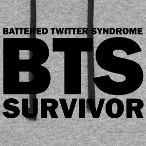 BTS - Battered Twitter Syndrome Survivor - Colorblock Hoodie