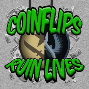 COINFLIPS RUIN LIVES - Colorblock Hoodie
