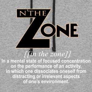 in the zone definition 1 - Colorblock Hoodie