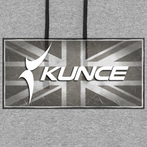 Kunce UK Article 50 Brexit - Colorblock Hoodie