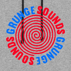 Grunge Sounds - Colorblock Hoodie