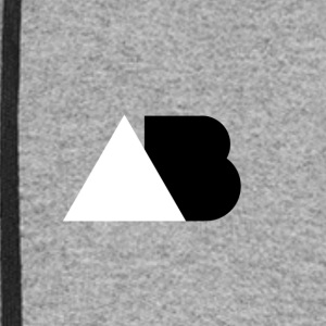 AB Black and White - Colorblock Hoodie