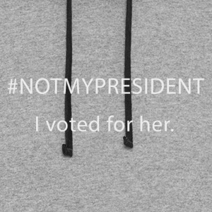#NOTMYPRESIDENT - I voted for her. - Colorblock Hoodie