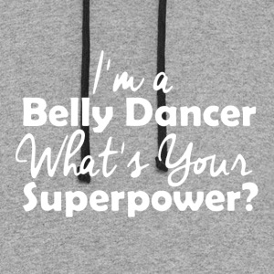 belly dance t shirts - Colorblock Hoodie
