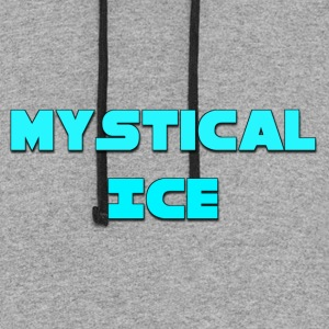 Mystical Ice Merch Is Awesome - Colorblock Hoodie