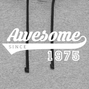 Awesome Since 1975 Shirt - Colorblock Hoodie