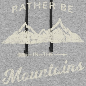 RATHER BE IN THE MOUNTAINS - Colorblock Hoodie